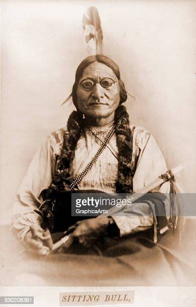 chief sitting bull stock photos and pictures getty images. Black Bedroom Furniture Sets. Home Design Ideas