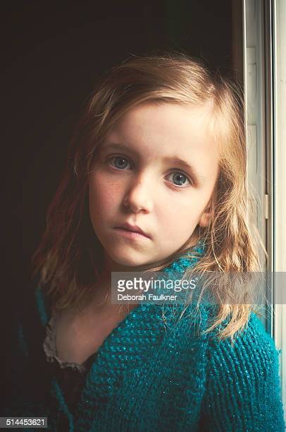 Portrait of six year old girl