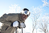 portrait of skier