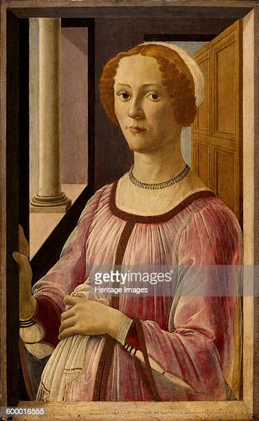 Portrait of Smeralda Bandinelli ca 1475 Found in the collection of Victoria and Albert Museum Artist Botticelli Sandro