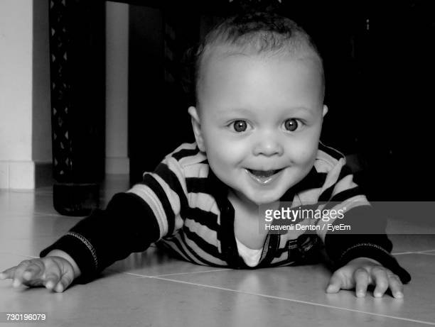 Portrait Of Smiling Baby Boy