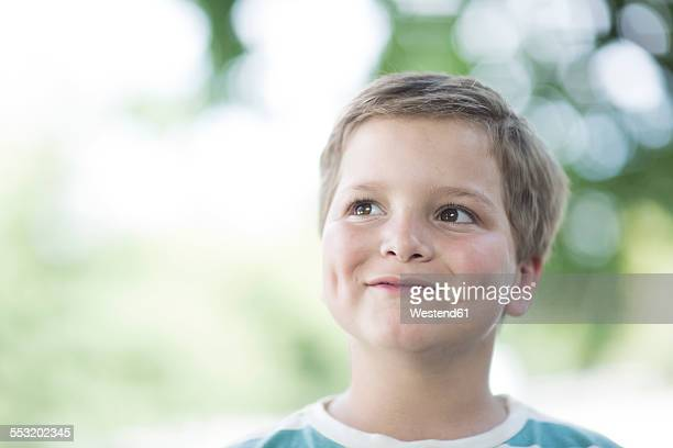 Portrait of smiling boy