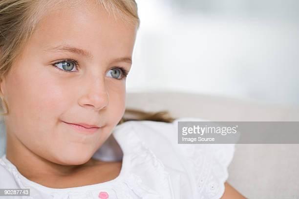 Porträt von Lächeln Mädchen