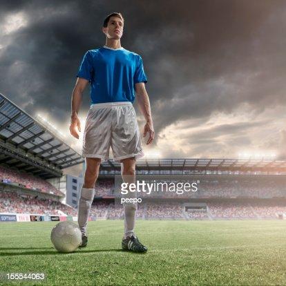 Portrait of Soccer Hero