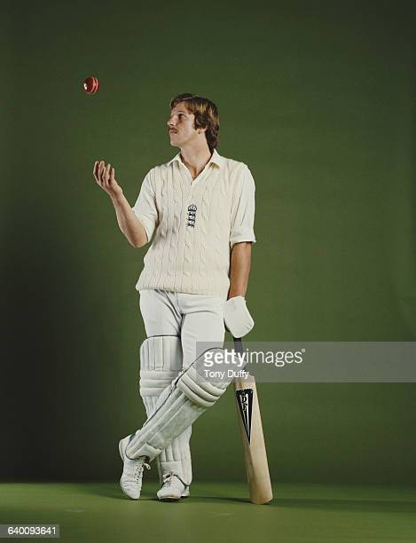 Portrait of Somerset and England cricketer Ian Botham on 1 May1979 at the Allsport studio in London United Kingdom Photo by Tony Duffy/Getty Images
