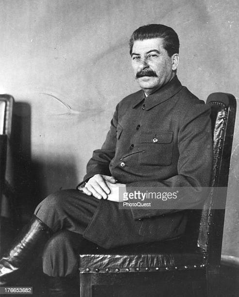 Portrait of Soviet leader Joseph Stalin undated