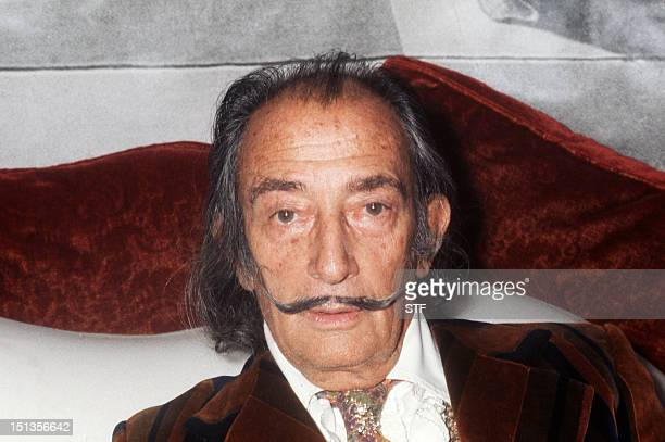 A portrait of Spanish artist Salvador Dali taken on December 13 1972 in Paris One of his bestknown paintings is 'The Persistence of the Memory' AFP...
