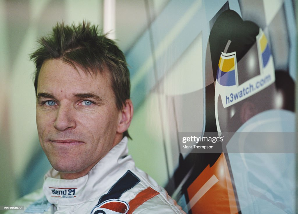 Portrait of Stefan Johansson of Sweden driver of the Johansson Motorsport LMP900 Audi R8 Audi turbo V8 during the pre race test days for the FIA...