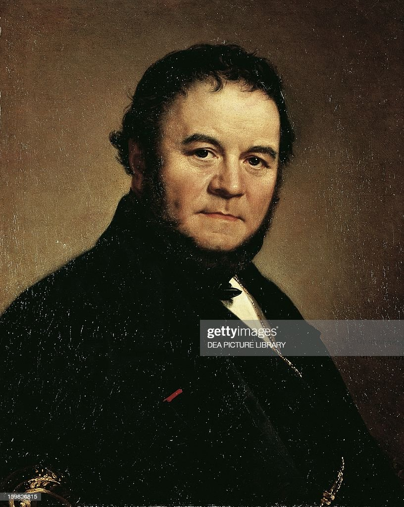 portrait of stendhal pictures getty images portrait of stendhal pseudonym of marie henri beyle grenoble 1783 1842