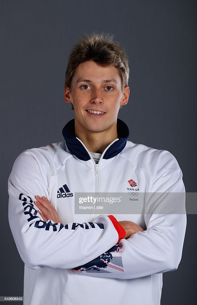 A portrait of Stephen Milne a member of the Great Britain Olympic team during the Team GB Kitting Out ahead of Rio 2016 Olympic Games on June 29, 2016 in Birmingham, England.