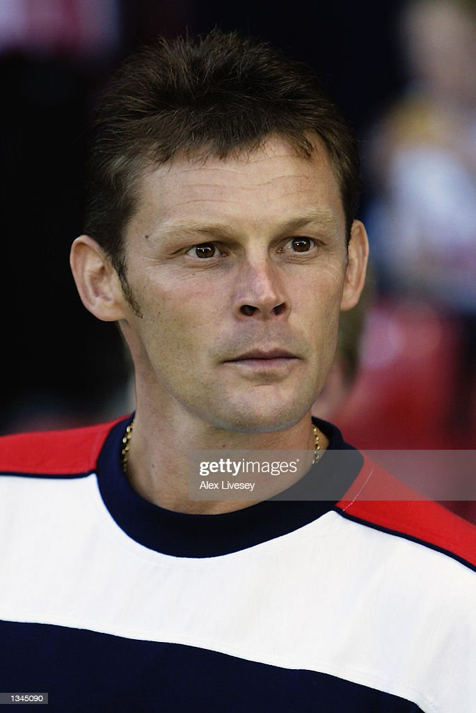 Portrait of Steve Cotterill manager of Stoke City during the Nationwide First Division match between Stoke City and Leicester City at the Brittania Stadium in Stoke on 14 August, 2002.