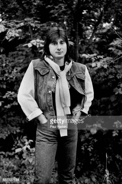Portrait of Steve Perry of Journey at the Alpine Valley Music Theater in East Troy Wisconsin June 17 1983