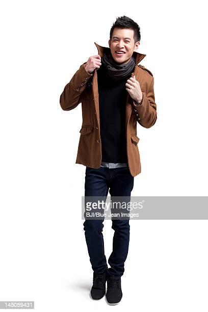 Portrait of stylish young man