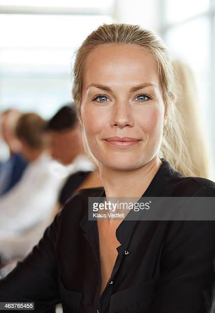 Portrait of succesful businesswoman