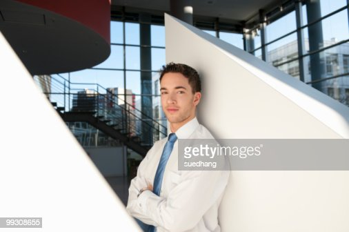 Portrait of successful businessman : Stock Photo