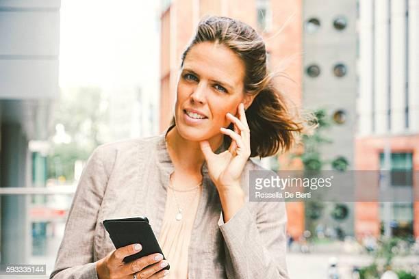 Portrait Of Successful Businesswoman In Urban Landscape