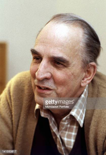 Portrait of Swedish director Ingmar Bergman 1980s