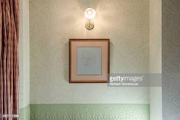 A portrait of Sylvia Pankhurst hangs in the Parlour of the former home of Emmeline Pankhurst and where the Suffragette movement began on October 8...