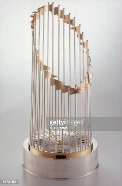 Portrait of the 2000 Major League Baseball World Series Championship Trophy