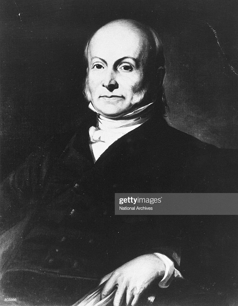 Portrait of the 6th U.S. President John Quincy Adams . Show more