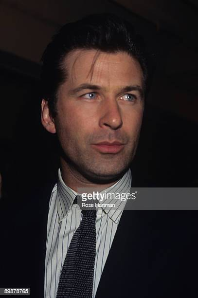 Portrait of the actor Alec Baldwin at a movie premiere ca2000