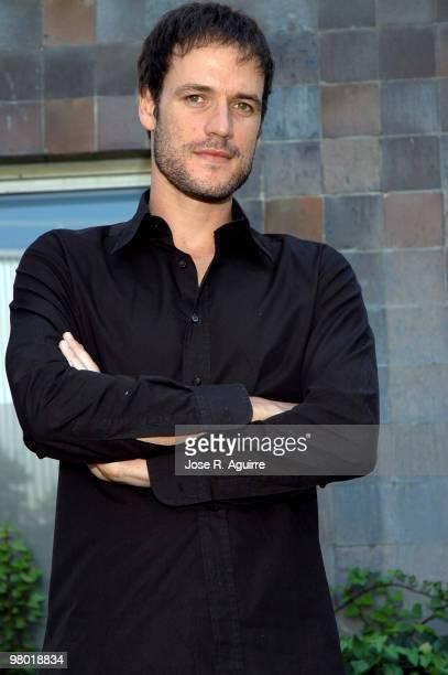 Portrait of the actor Daniel Grao