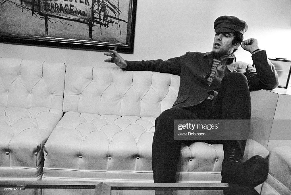 Portrait of the actor Elliot Gould 1970s