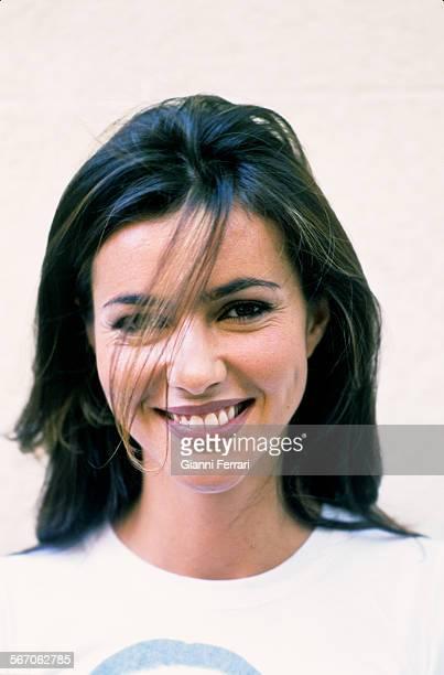 A portrait of the actress and TV presenter Arancha Del So 7th June1999 Madrid Spain