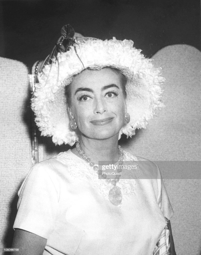 Portrait of the actress Joan Crawford April 1960
