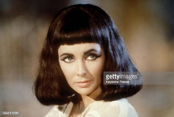 Portrait of the American actress of English origin Elizabeth TAYLOR in Rome on May 8 1962 during the shoot of CLEOPATRA by Joseph MANKIEWICZ