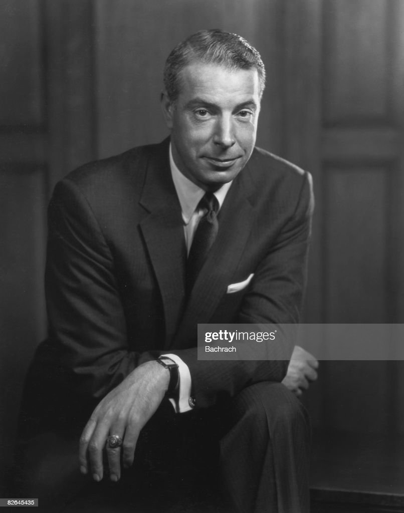 A portrait of the American baseball player <a gi-track='captionPersonalityLinkClicked' href=/galleries/search?phrase=Joe+DiMaggio&family=editorial&specificpeople=93596 ng-click='$event.stopPropagation()'>Joe DiMaggio</a> (1914 - 1999), New York, 1954. During his career with the New York Yankees from 1936 to 1951, he established the consecutive hitting streak record of 56 games in major league baseball.