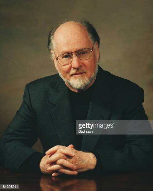 Portrait of the American composer John Williams Boston Massachussetts 1997