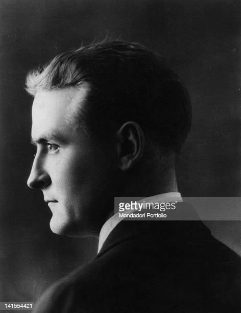 Portrait of the American writer Francis Scott Fitzgerald 1920s