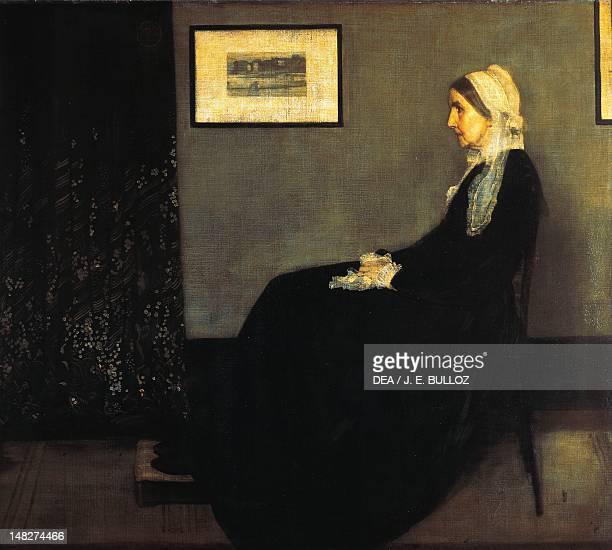 Portrait of the artist's mother ca 1871 by James McNeill Whistler oil on canvas 144x162 cm Paris Musée Du Louvre