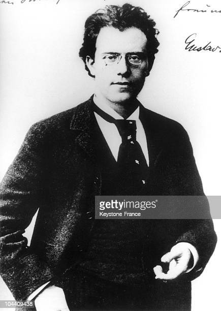 Portrait of the Austrian composer and conductor Gustav MAHLER in 1886