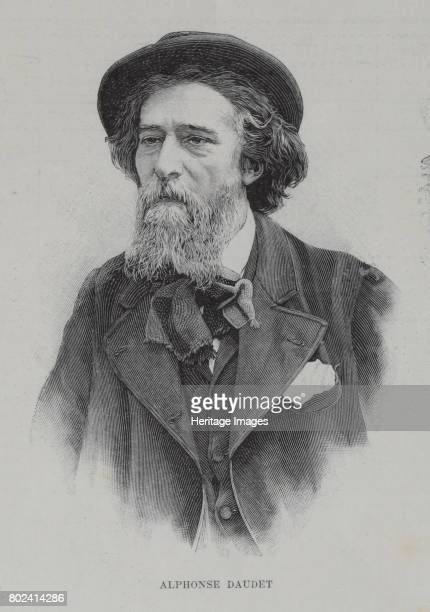 Portrait of the author Alphonse Daudet 1896 Found in the collection of I Turgenev Memorial Museum Moscow