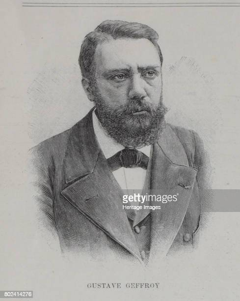 Portrait of the author Gustave Geffroy 1896 Found in the collection of I Turgenev Memorial Museum Moscow