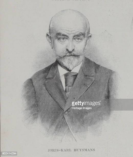 Portrait of the author JorisKarl Huysmans 1896 Found in the collection of I Turgenev Memorial Museum Moscow