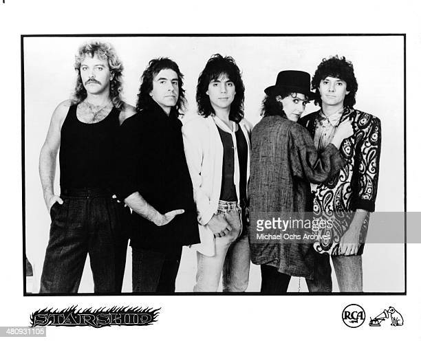 Portrait of the band Starship circa 1980