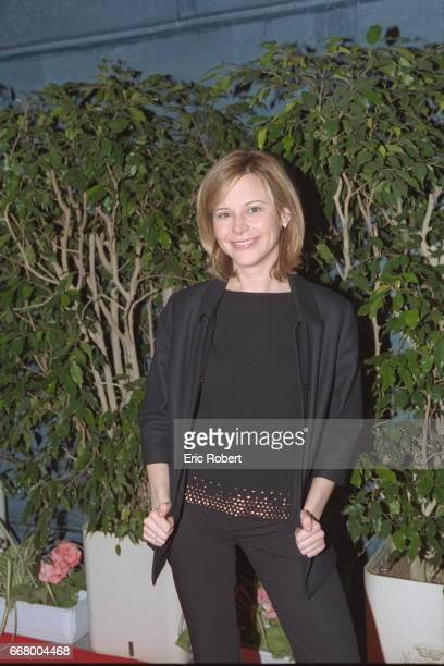 Portrait of the Canadian presenter Julie Snyder