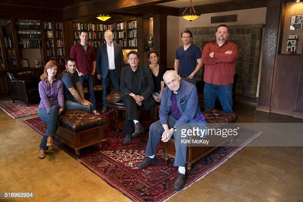 Portrait of the cast of the play 'Casa Valentina' James Snyder Valerie Mahaffey Robert Mammana Mark Jude Sullivan Christian Clemenson John Vickery...