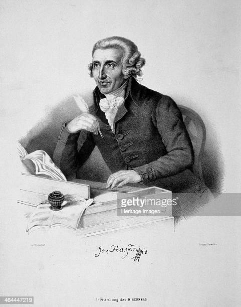 Portrait Of The Composer Joseph Haydn 18th Century Found In Collection A Pushkin