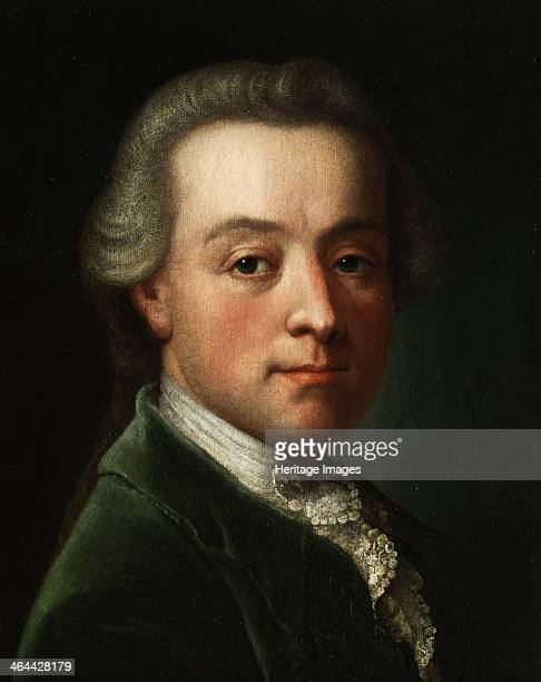 Portrait of the composer Wolfgang Amadeus Mozart c 1789 From a private collection