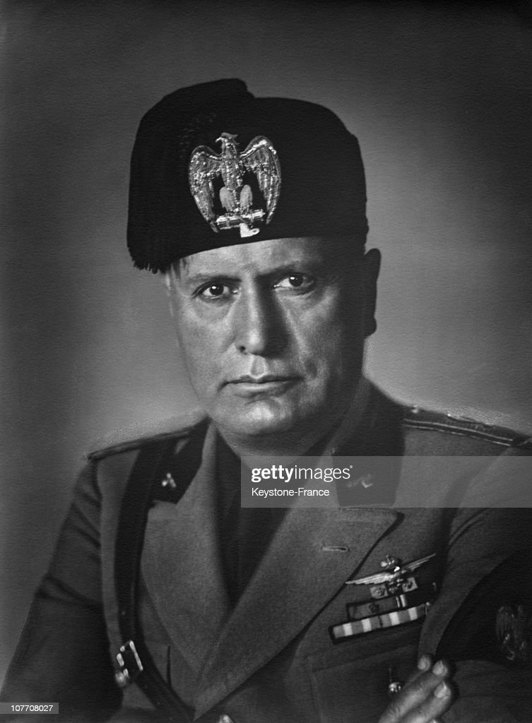 A Portrait Of The Duce, <a gi-track='captionPersonalityLinkClicked' href=/galleries/search?phrase=Benito+Mussolini&family=editorial&specificpeople=90389 ng-click='$event.stopPropagation()'>Benito Mussolini</a>, Between 1937 And 1940. Portrait Of The Duce, <a gi-track='captionPersonalityLinkClicked' href=/galleries/search?phrase=Benito+Mussolini&family=editorial&specificpeople=90389 ng-click='$event.stopPropagation()'>Benito Mussolini</a>, Between 1937 And 1940.