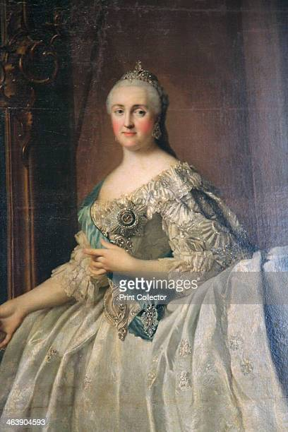 'Portrait of the Empress Catherine the Great after 1762 Detail Catherine II came to the throne in 1762 A German princess she was chosen at the age of...