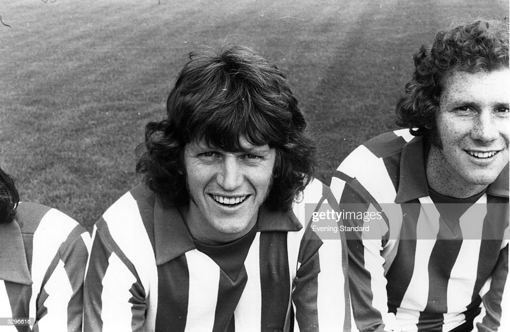 Portrait of the football player for England, Southampton and Manchester City, Mick Channon.