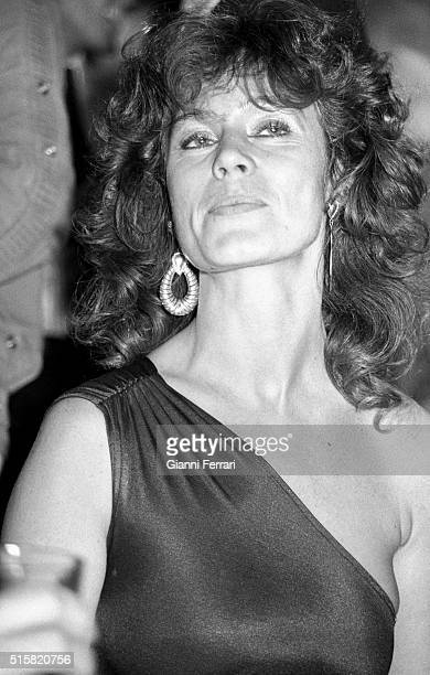 Portrait of the French actress Corinne Clery Madrid Spain