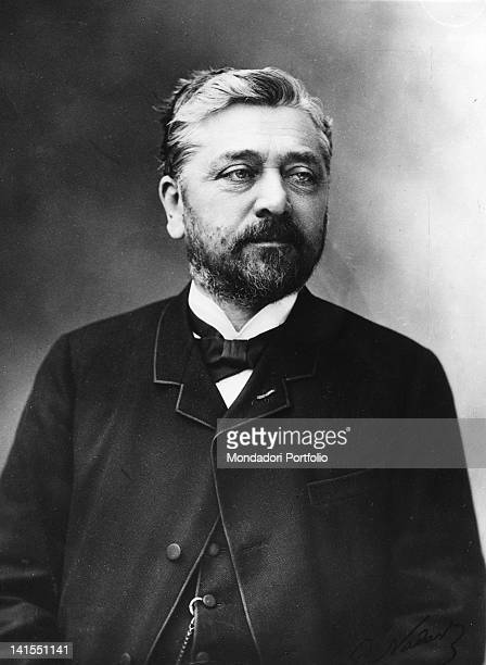 Portrait of the French engineer Gustave Eiffel 1890s