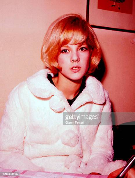 Portrait of the French singer Sylvie Vartan 12nd February 1964 Madrid Spain