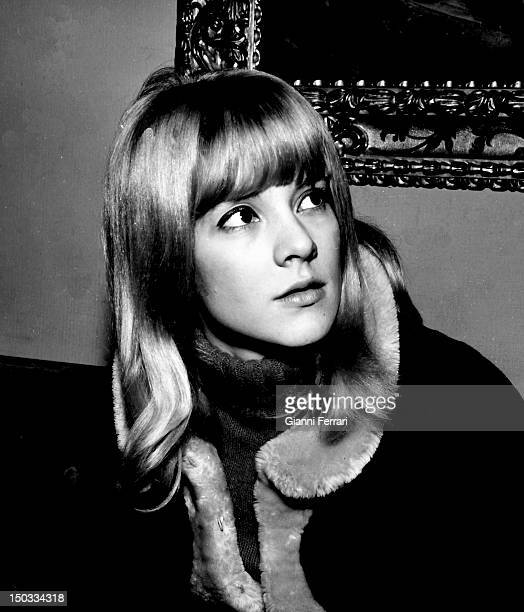 A portrait of the French singer Sylvie Vartan in Barcelona 12nd February 1964 Barcelona Spain